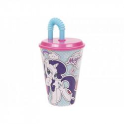 Plastový Pohárek s brčkem My Little Pony / 430 ml