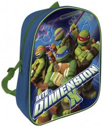 Dětský batoh Ninja Turtles / Želvy Ninja modrý 28 x 23 x 7 cm / vecizfilmu
