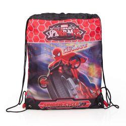 Školní pytlík na přezůvky / tělocvik Spiderman 43 x 33 cm / vecizfilmu
