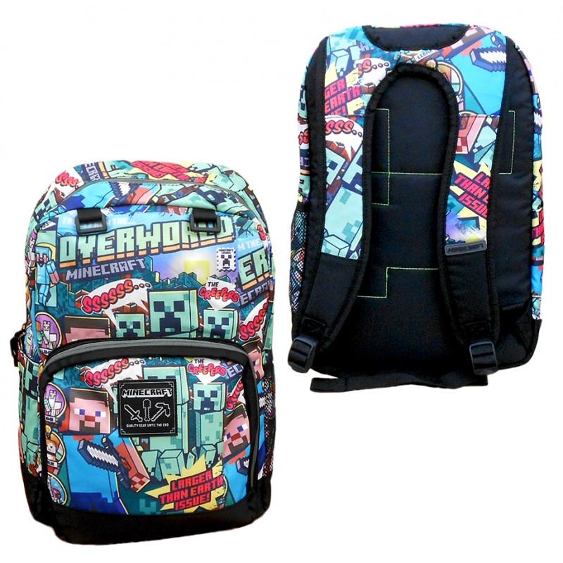 Školní batoh Minecraft   OVERWORLD   44 cm   Věci do školy 757c3736b6