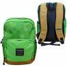 Chlapecký batoh Minecraft zeleno hnědý / kostičky 40 x 30 x 15 cm / vecizfilmu