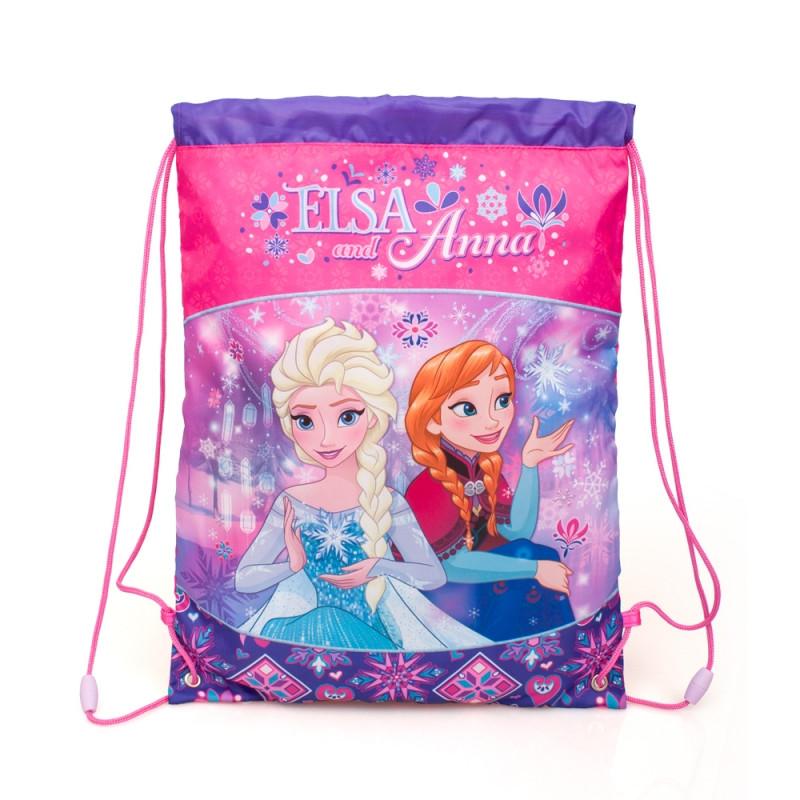 Gym Bag / Pytlík Frozen  / 43 x 33 cm