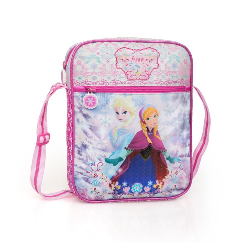 Dívčí taška na jedno rameno Frozen / 31 x 24 x 4 cm