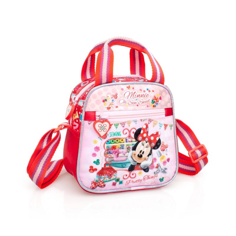 Dívčí taška Minnie Mouse / 17 x 16,5 x 9,5 cm