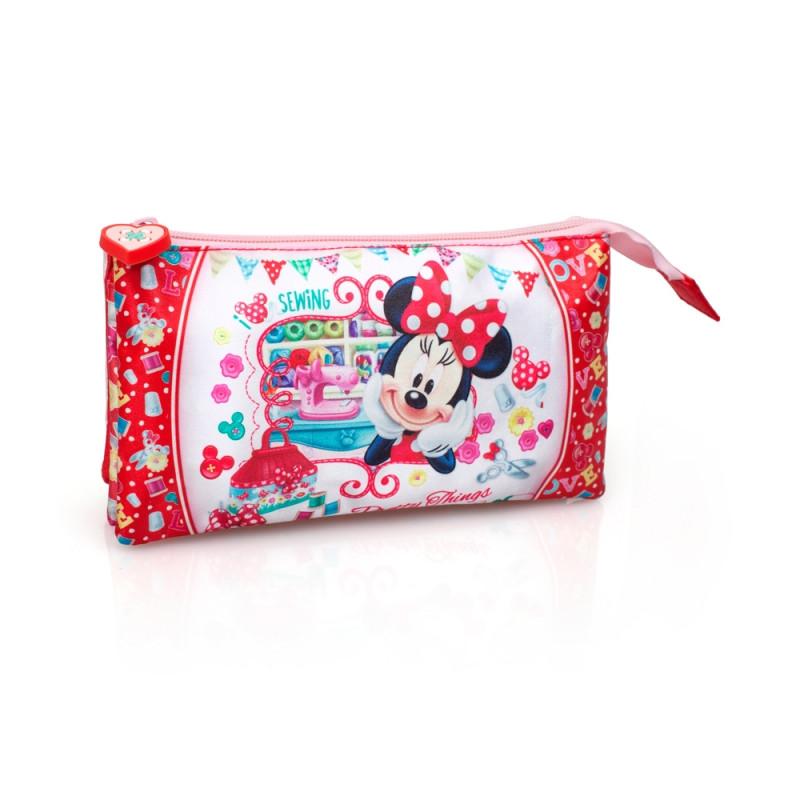 Penál / Pouzdro Minnie Mouse / 22 x 12,5 cm