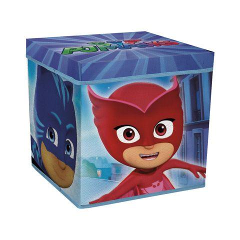 Úložný box s víkem PJ Masks Amaya / Greg / Connor 30 x 30 x 30 cm