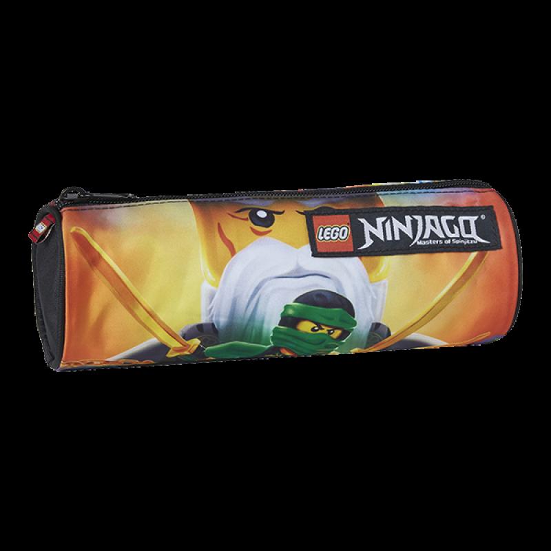 Pouzdro / Penál  Oválné Lego Ninjago Master Wu / 8 x 23 x 8 cm