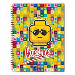 Notes / Blok Lego / Awesome / 20 x 26 cm / veci z filmu