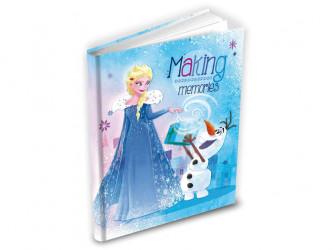 Blok / Notes Frozen / modrý / 14 x 19 cm / veci z filmu