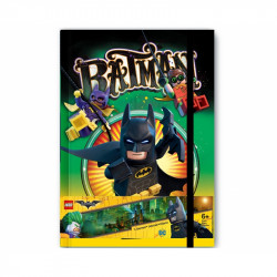 Notes / Blok Lego Batman / 20 x 14 cm / veci z filmu
