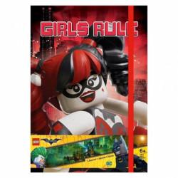 Notes / Blok Lego Batgirl / 20 x 14 cm / veci z filmu