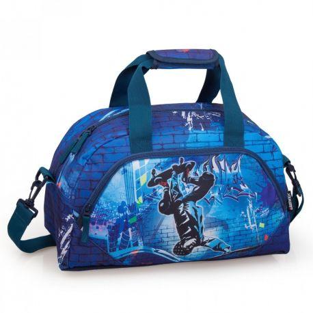 Chlapecká sportovní taška přes rameno Eastwick modrá 45 x 25 x 24 cm / vecizfilmu