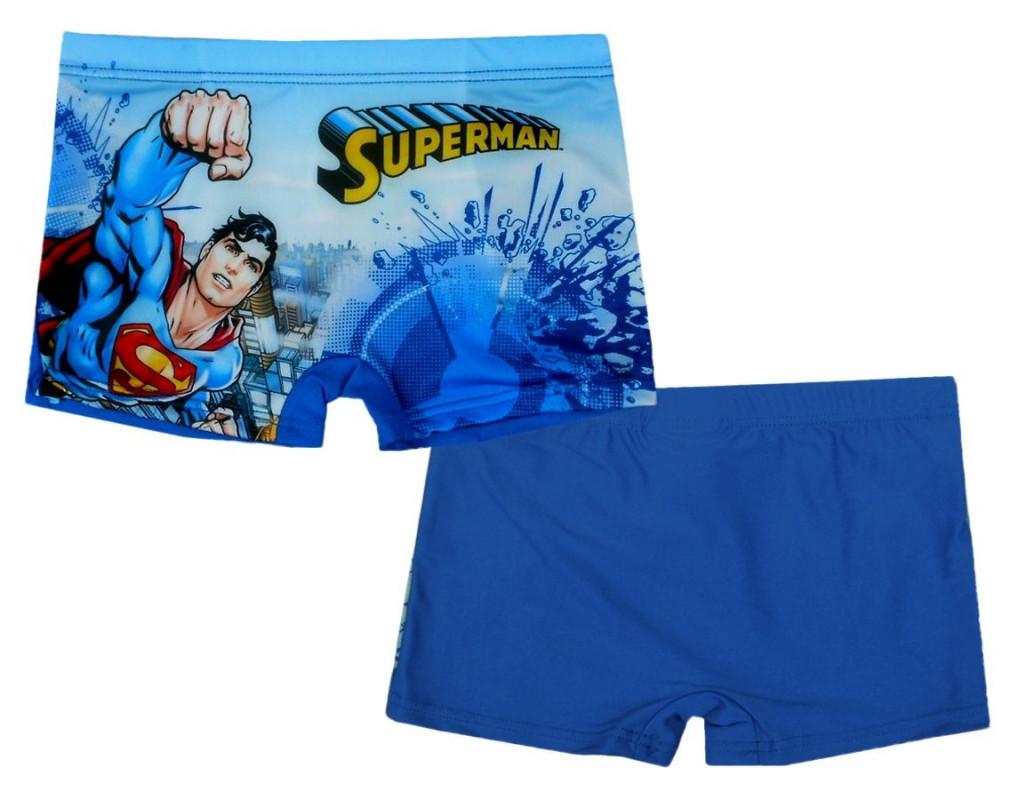 Chlapecké letní plavky modré Superman 4 - 8 let