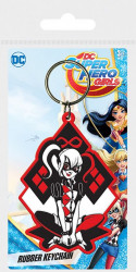 Gumový přívěšek na klíče DC Super Hero Girls / Harley Quinn / vecizfilmu