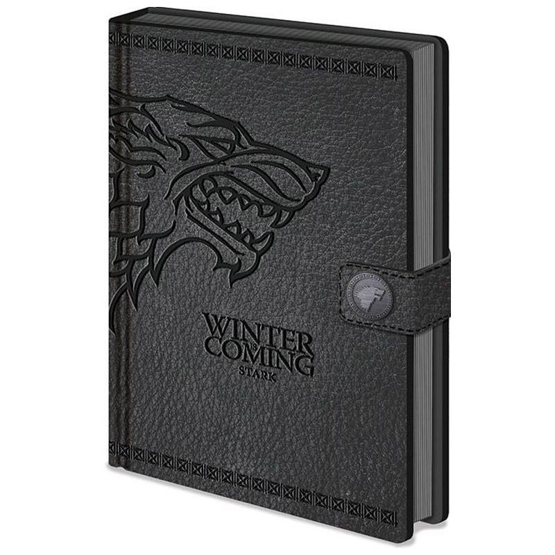 Blok Zápisník A5 Hra O Trůny / Game Of Thrones Stark
