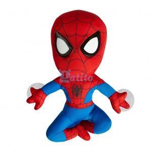 Svítící látková postavička Spiderman 30 x 25 x 10 cm