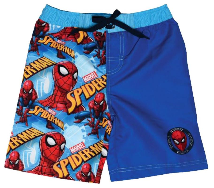 Chlapecké letní plavecké šortky s pavoučím mužem Spidermanem 4 - 8 let