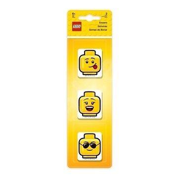 Sada 3 ks školních gum Lego