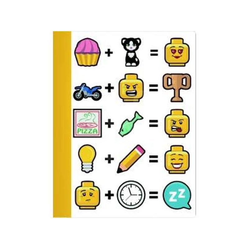 Dětský blok / notes Lego 19 x 25 cm