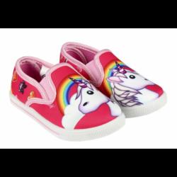 Dívčí papuče s gumovou podrážkou Emoji / Smajlíci velikost 27