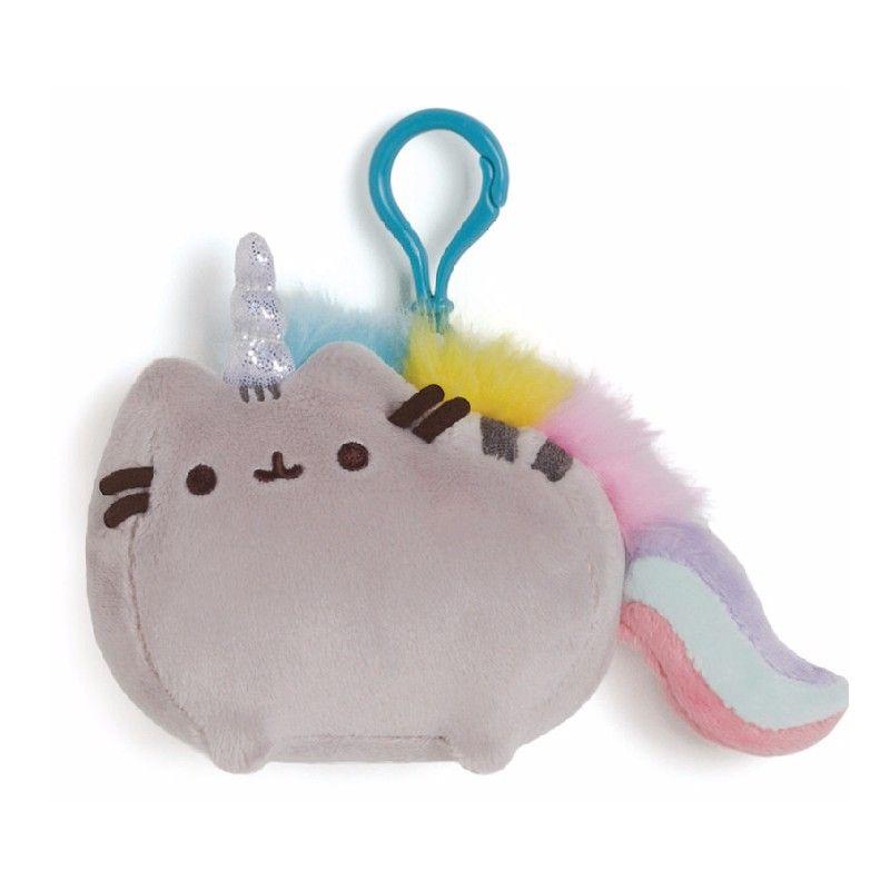 Dívčí plyšový přívěšek na klíče / batoh Pusheen / Unicorn 12 x 9 cm / vecizfilmu