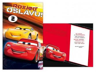 Přání k narozeninám Cars / Auta 1 - 12 let / vecizfilmu