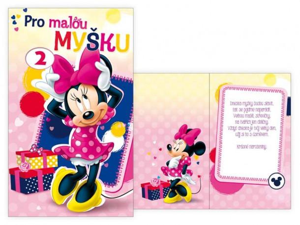 Dívčí přání k narozeninám Disney / Minnie Mouse / Myška Minnie 1 - 12 let / vecizfilmu
