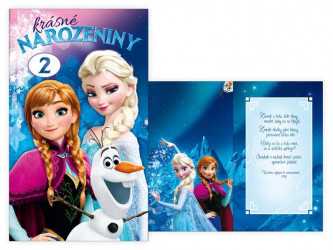 Dívčí přání k narozeninám Disney / Frozen / Ledové Království 1 - 12 let / vecizfilmu