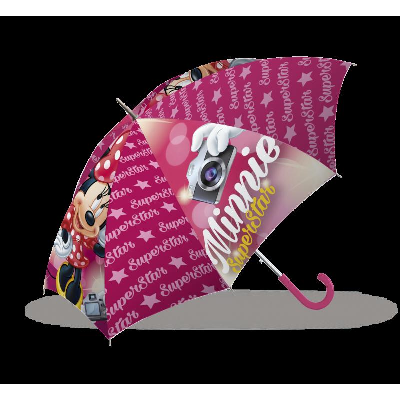 Dívčí deštník s Myškou Minnie  / Minnie Mouse Superstar