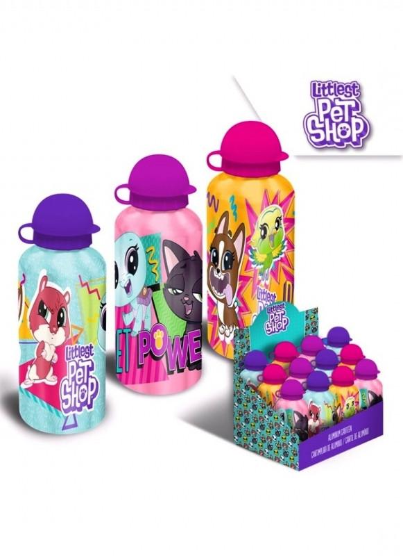 Hliníková láhev na vodu Littlest Pet Shop 500 ml