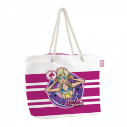 Plážová taška Barbie / 49 X 32 X 12 CM / veci z filmu