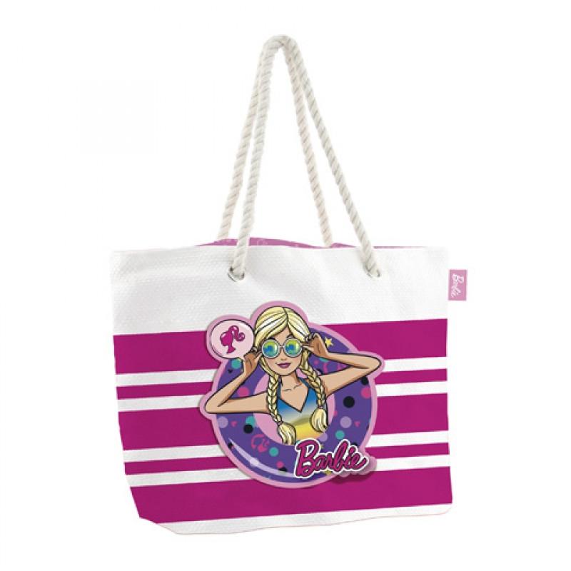 Plážová taška Barbie / 49 X 32 X 12 CM