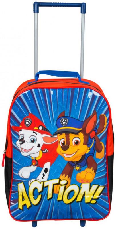 Chlapecká taška / batoh na kolečkách Tlapková Patrola / Paw Patrol Action 28 x 37 x 12 cm