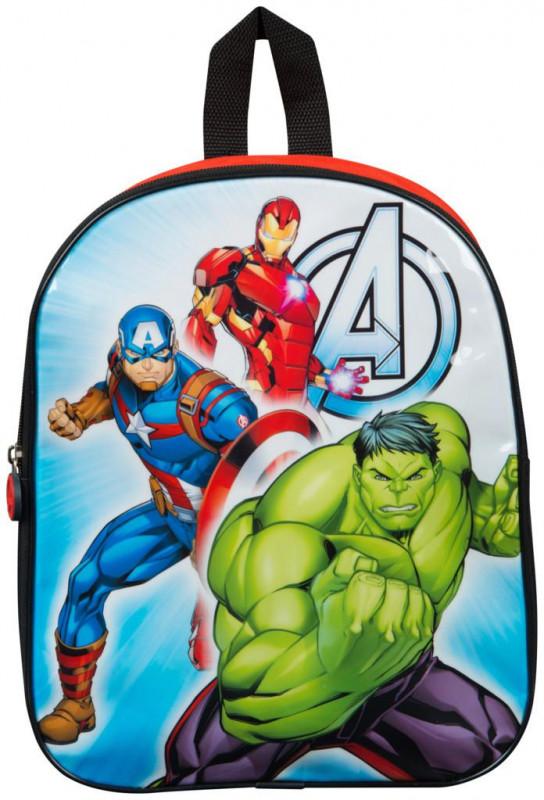 Chlapecký junior batoh Avengers Hulk / Kapitán Amerika / Iron man 26 x 32 x 10 cm