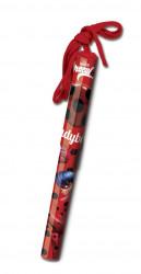 Dívčí kuličkové pero / propiska se šňůrkou Zázračná Beruška / Miraculous Ladybug