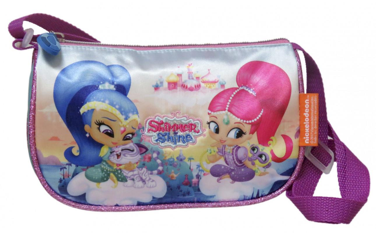 Dívčí příruční taštička / kabelka Shimmer and Shine / Třpyt a lesk