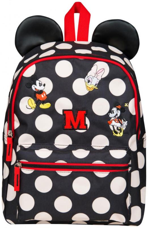 Dívčí batoh Myška Minnie / Minnie Mouse s oušky 29 x 43 x 11 cm
