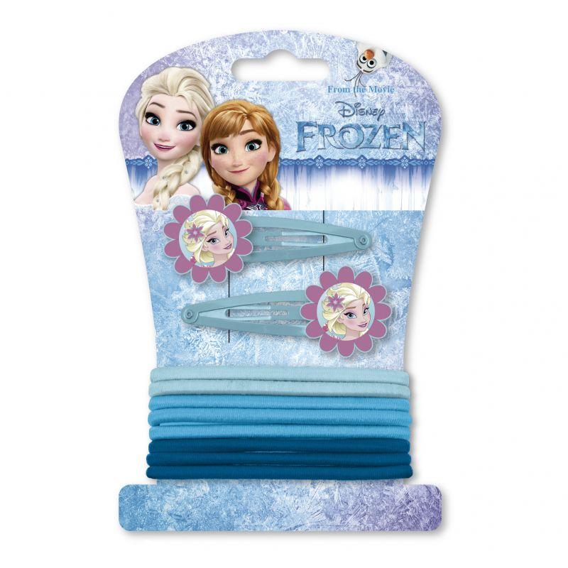 Sada do vlasů Ledové Království / Frozen gumičky a sponky