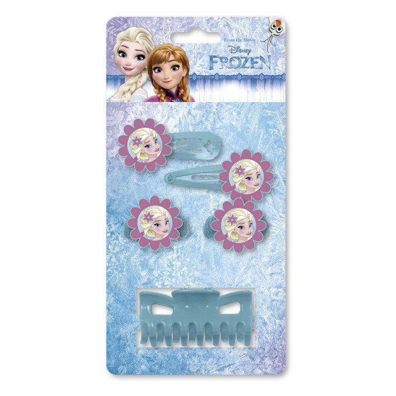 Dívčí vlasové doplňky Frozen / Ledové království sponky / gumičky / skřipec