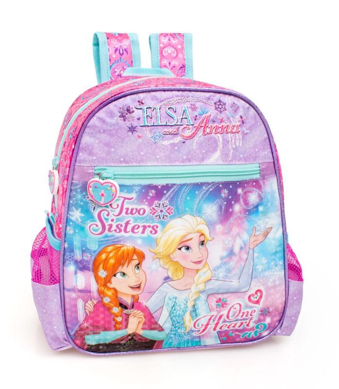 Dívčí junior batoh Ledové Království / Frozen Anna a Elsa 29 x 25 x 11 cm