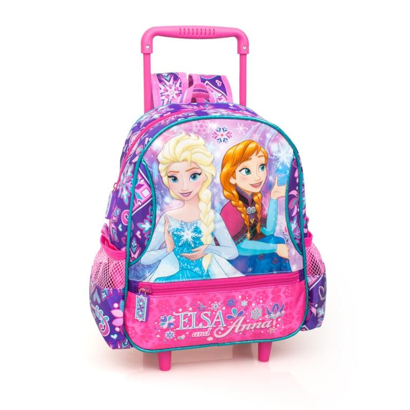 Dívčí batoh na kolečkách Frozen / Ledové království 29 x 25 x 11 cm