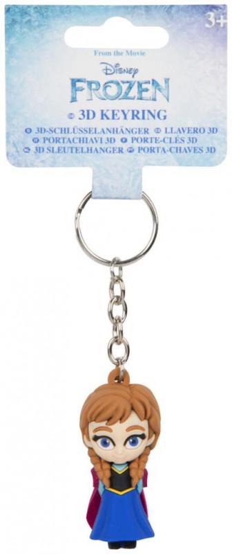 3D figurka / přívěšek na klíče / batoh Frozen Anna