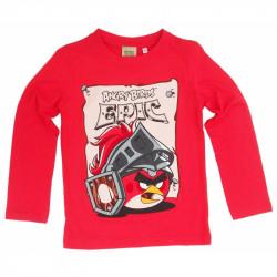 Chlapecké tričko s dlouhým rukávem Angry Birds / Epic červené velikost 116 cm