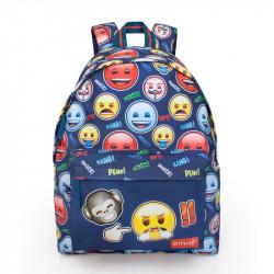 Batoh Smajlíci / Emoji Monkey 43 x 33 x 13 cm