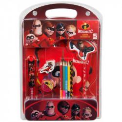 Školní sada Úžasňákovi / Incredibles / 4 x 35 x 24 cm / veci z filmu