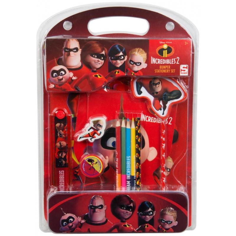 Školní sada Úžasňákovi / Incredibles / 4 x 35 x 24 cm