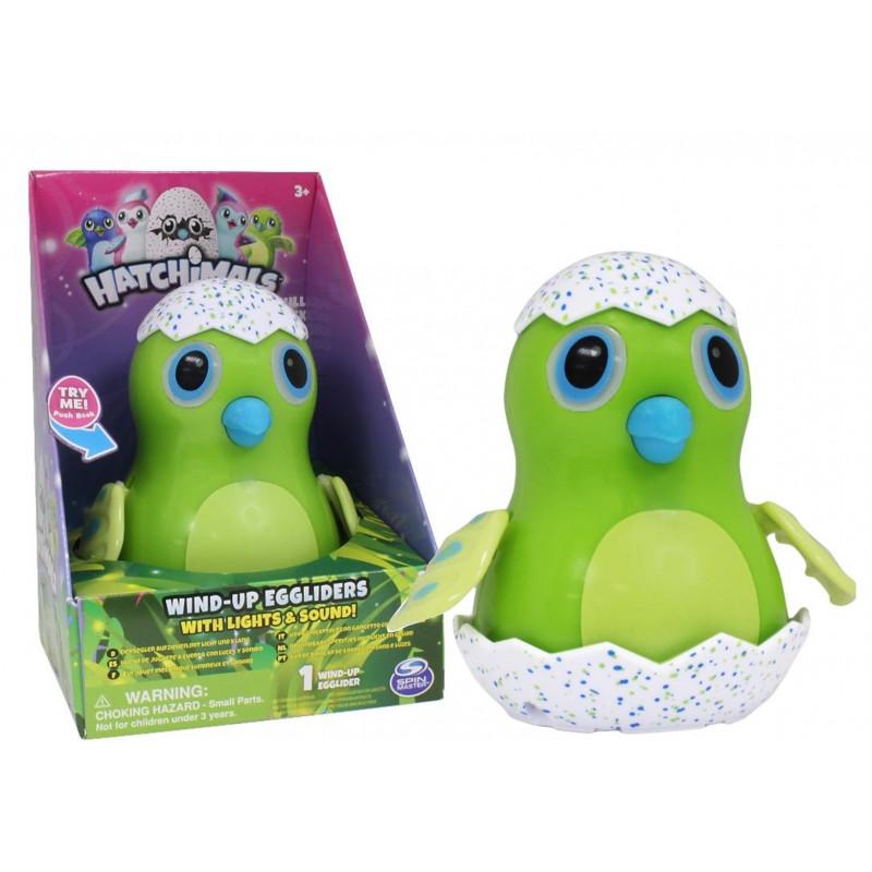 Plastová svítící a hrající figurka Hatchimals zelená