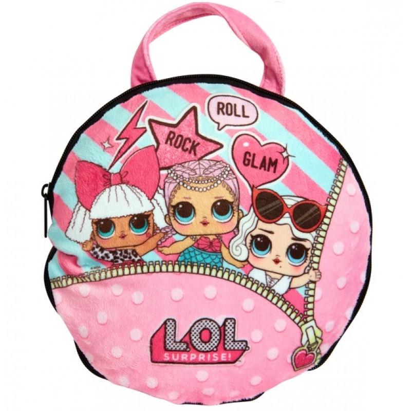 Plyšová kabelka pro panenky LOL Surprise   22 x 22 cm   veci z filmu f7db9ed08e