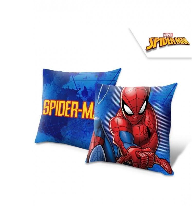 Polštář modrý Spiderman / 40 x 40 cm