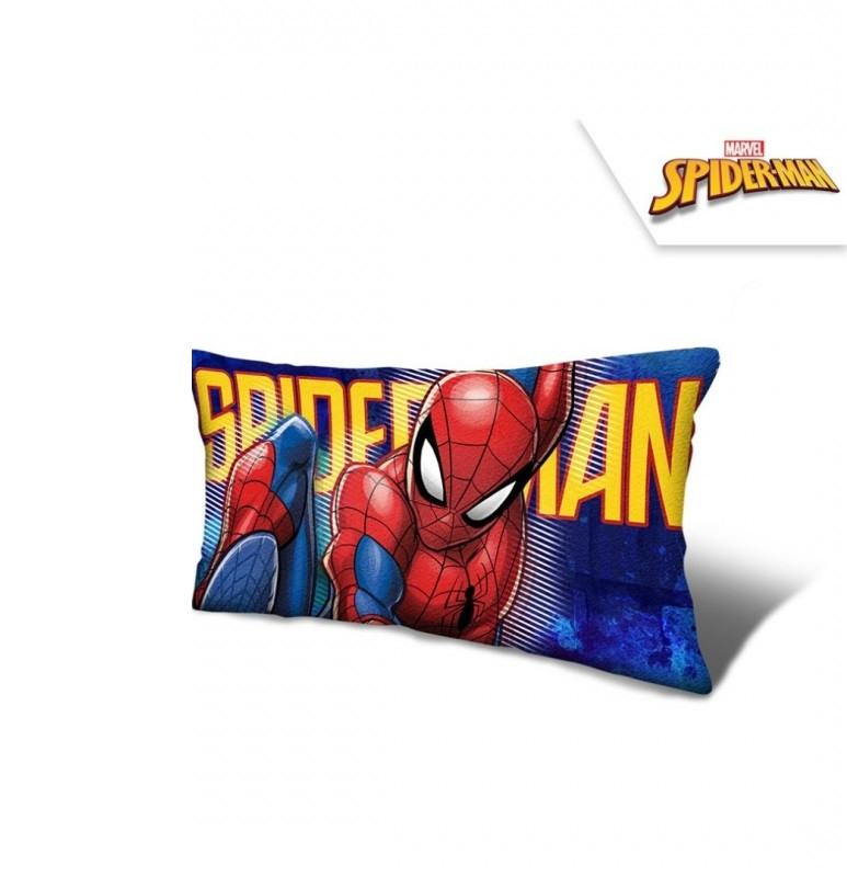 Polštář z mikrovlákna Spiderman / 70 x 35 x 12 cm